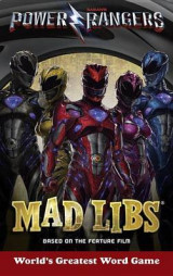 Omslag - Power Rangers Mad Libs