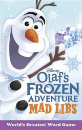 Omslag - Olaf's Frozen Adventure Mad Libs