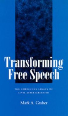 Transforming Free Speech av Mark A. Graber (Heftet)