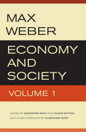 Economy and Society av Max Weber (Heftet)