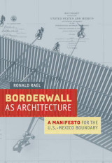 Omslag - Borderwall as Architecture