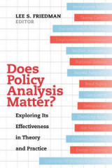 Omslag - Does Policy Analysis Matter?