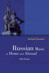 Omslag - Russian Music at Home and Abroad
