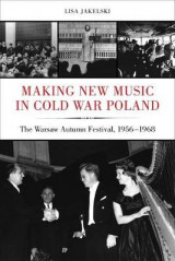 Omslag - Making New Music in Cold War Poland