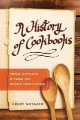 Omslag - A History of Cookbooks