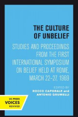 Omslag - The Culture of Unbelief