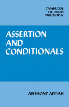 Assertion and Conditionals av Anthony Appiah (Heftet)