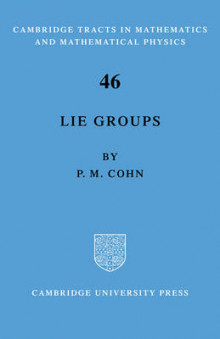 Lie Group av P. M. Cohn (Heftet)