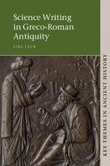 Omslag - Science Writing in Greco-Roman Antiquity