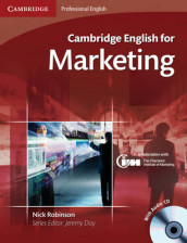 Cambridge English for Marketing Student's Book with Audio CD av Nick Robinson (Blandet mediaprodukt)