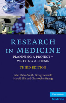 Research in Medicine av Juliet A. Usher-Smith, George Murrell, Harold Ellis og Christopher Huang (Heftet)