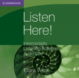 Omslag - Listen Here! Intermediate Listening Activities CDs