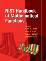 Omslag - NIST Handbook of Mathematical Functions Paperback and CD-ROM