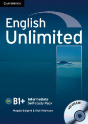 English Unlimited Intermediate Self-study Pack (Workbook with DVD-ROM) av Maggie Baigent og Nick Robinson (Blandet mediaprodukt)