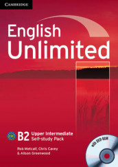 English Unlimited Upper Intermediate Self-study Pack (Workbook with DVD-ROM) av Chris Cavey, Alison Greenwood og Rob Metcalf (Blandet mediaprodukt)
