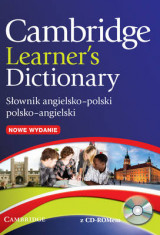 Omslag - Cambridge Learner's Dictionary English-Polish with CD-ROM