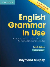 Omslag - English Grammar in Use Book with Answers
