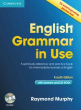 Omslag - English Grammar in Use with Answers and CD-ROM
