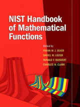 Omslag - NIST Handbook of Mathematical Functions Hardback and CD-ROM