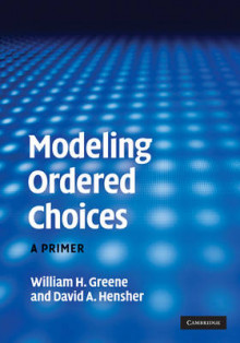 Modeling Ordered Choices av William H. Greene og David A. Hensher (Innbundet)