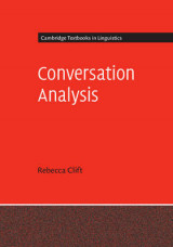 Omslag - Conversation Analysis