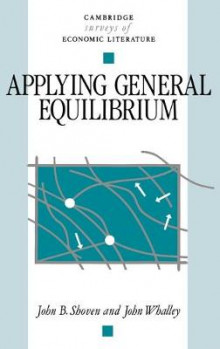 Applying General Equilibrium av John B. Shoven og John Whalley (Innbundet)