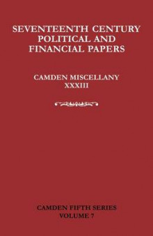 Seventeenth-Century Parliamentary and Financial Papers av David R. Ransome, Mike J. Braddick, Mark Greengrass og J. T. Cliffe (Heftet)