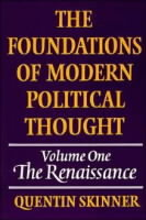 Omslag - The Foundations of Modern Political Thought: v. 1