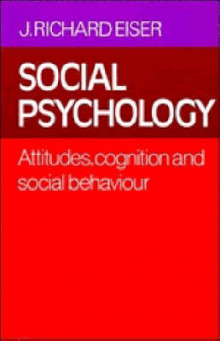 Social Psychology av J. Richard Eiser (Heftet)