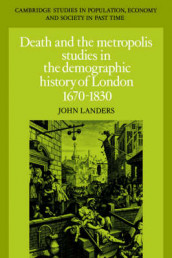 Death and the Metropolis av John Landers (Innbundet)