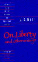 Omslag - J. S. Mill: 'On Liberty' and Other Writings