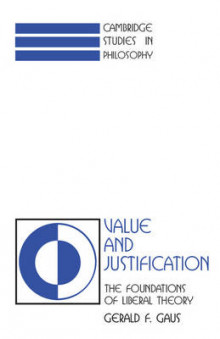 Value and Justification av Gerald F. Gaus (Heftet)