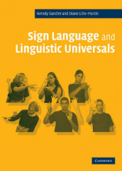 Sign Language and Linguistic Universals av Diane Lillo-Martin og Wendy Sandler (Innbundet)