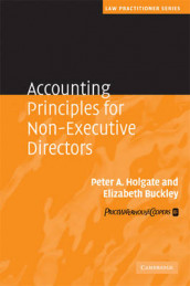 Accounting Principles for Non-Executive Directors av Elizabeth Buckley og Peter Holgate (Innbundet)