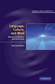 Language, Culture, and Mind av Paul Kockelman (Innbundet)