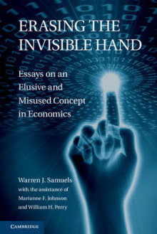 Erasing the Invisible Hand av Warren J. Samuels (Innbundet)