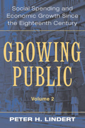 Growing Public: Volume 2, Further Evidence av Peter H. Lindert (Heftet)