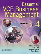 Omslag - Essential Vce Business Management Units 3 and 4 Book with CD-ROM: Units 3&4