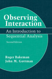 Observing Interaction av Roger Bakeman og John M. Gottman (Heftet)