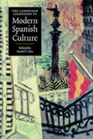 Omslag - The Cambridge Companion to Modern Spanish Culture