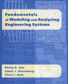 Fundamentals of Modeling and Analyzing Engineering Systems av Philip D. Cha, James J. Rosenberg og Clive L. Dym (Heftet)
