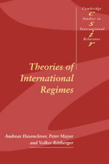 Theories of International Regimes av Andreas Hasenclever, Peter Mayer og Volker Rittberger (Heftet)