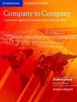 Omslag - Company to Company Student's Book