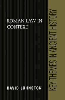 Roman Law in Context av David Johnston (Innbundet)