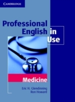 Omslag - Professional English in Use Medicine
