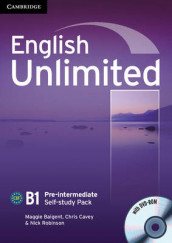 English Unlimited Pre-intermediate Self-study Pack (Workbook with DVD-ROM) av Maggie Baigent, Chris Cavey og Nick Robinson (Blandet mediaprodukt)