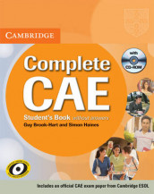 Complete CAE Student's Book without answers with CD-ROM av Guy Brook-Hart og Simon Haines (Ukjent)