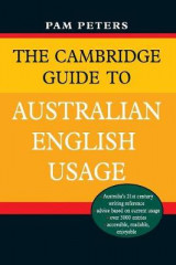 Omslag - The Cambridge Guide to Australian English Usage