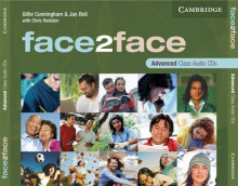 Face2face Advanced Class Audio CDs (3) av Gillie Cunningham og Jan Bell (Lydbok-CD)