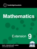Omslag - Cambridge Essentials Mathematics Extension 9 Pupil's Book with CD-ROM: Year 9
